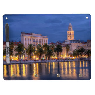 Riva waterfront, Split, Croatia Dry Erase Board With Keychain Holder