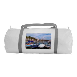 Riva waterfront, Split, Croatia Gym Bag