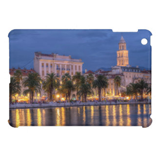 Riva waterfront, Split, Croatia iPad Mini Case