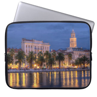 Riva waterfront, Split, Croatia Laptop Sleeves