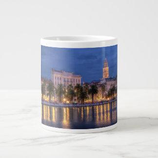 Riva waterfront, Split, Croatia Large Coffee Mug
