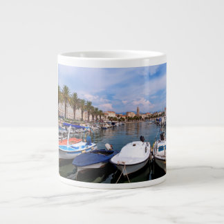 Riva waterfront, Split, Croatia Large Coffee Mug