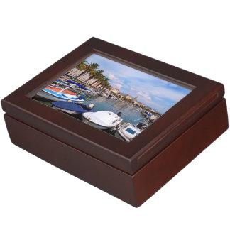Riva waterfront, Split, Croatia Memory Box