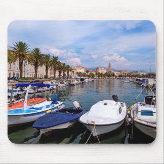 Riva waterfront, Split, Croatia Mouse Pad