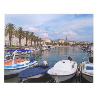 Riva waterfront, Split, Croatia Notepad