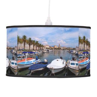 Riva waterfront, Split, Croatia Pendant Lamp