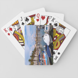 Riva waterfront, Split, Croatia Playing Cards