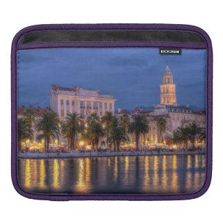 Riva waterfront, Split, Croatia Sleeves For iPads