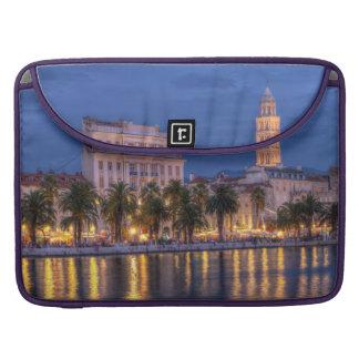 Riva waterfront, Split, Croatia Sleeves For MacBooks
