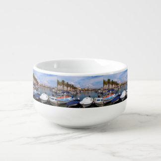 Riva waterfront, Split, Croatia Soup Mug