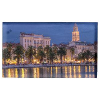 Riva waterfront, Split, Croatia Table Number Holder