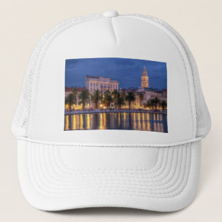 Riva waterfront, Split, Croatia Trucker Hat