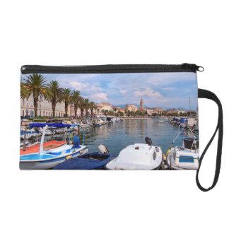 Riva waterfront, Split, Croatia Wristlet