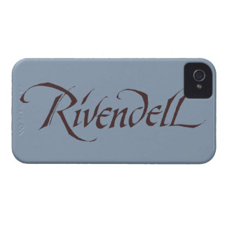 Rivendell Name Solid iPhone 4 Case-Mate Case