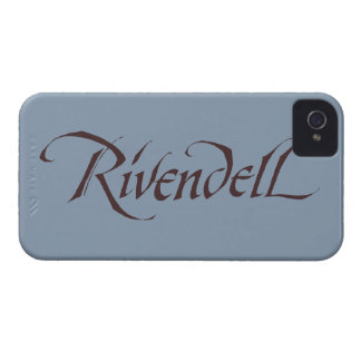 Rivendell Name Solid iPhone 4 Case-Mate Cases