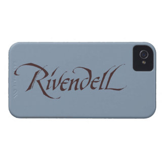Rivendell Name Solid iPhone 4 Cases