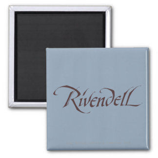 Rivendell Name Solid Refrigerator Magnet