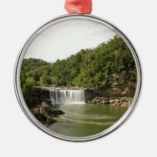 River 1 metal ornament