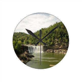 River 1 round clock