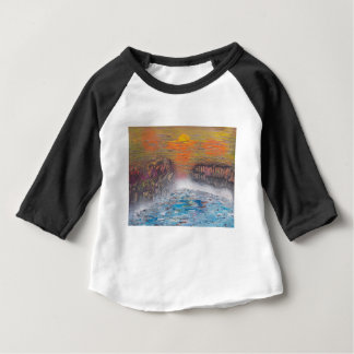 River above the falls baby T-Shirt