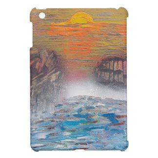 River above the falls iPad mini case