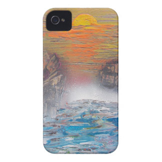 River above the falls iPhone 4 Case-Mate case