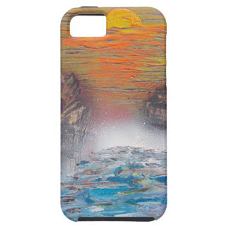 River above the falls iPhone 5 case