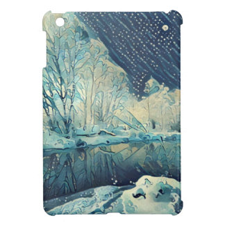 River and moon case for the iPad mini