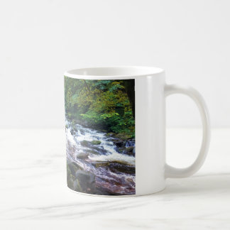 River and Woodland Mug
