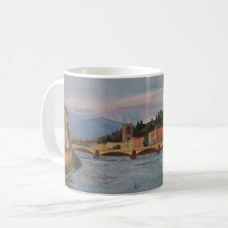 River Arno Painting Mug