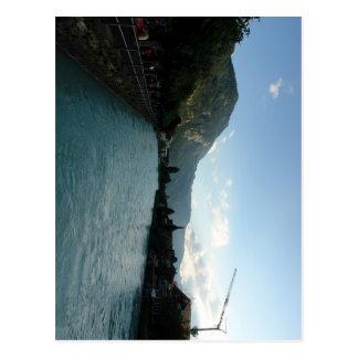 River at Interlaken in Switzerland Postcard