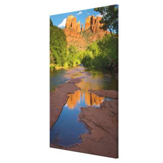 River at Red Rock Crossing, Arizona Canvas Print