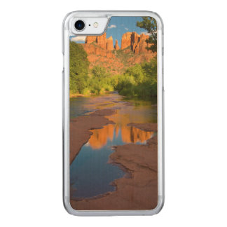 River at Red Rock Crossing, Arizona Carved iPhone 8/7 Case