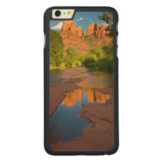 River at Red Rock Crossing, Arizona Carved Maple iPhone 6 Plus Case