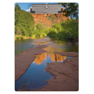 River at Red Rock Crossing, Arizona Clipboards