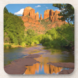 River at Red Rock Crossing, Arizona Drink Coasters