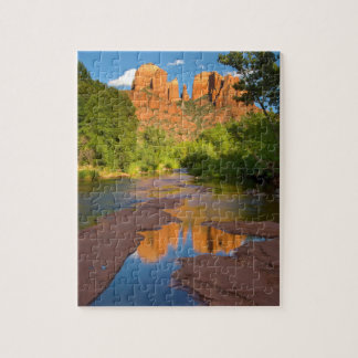 River at Red Rock Crossing, Arizona Jigsaw Puzzle