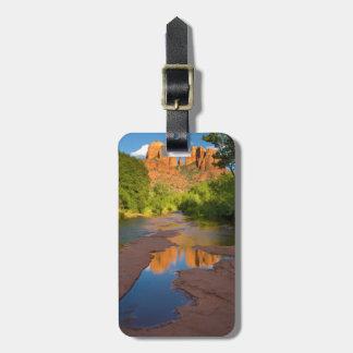 River at Red Rock Crossing, Arizona Luggage Tag