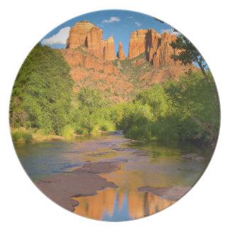 River at Red Rock Crossing, Arizona Plate