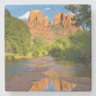 River at Red Rock Crossing, Arizona Stone Coaster