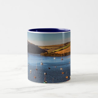 River Avon at Bantham Two-Tone Coffee Mug