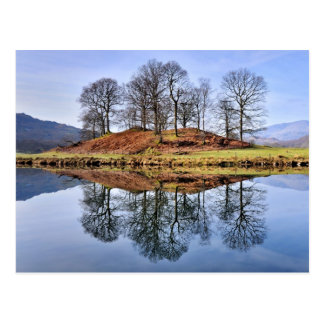 River Brathay Reflections, The Lake District Postcard
