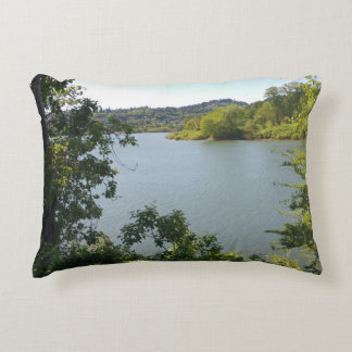 River by Oaks Bottom Decorative Pillow