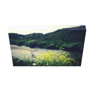 River canvas