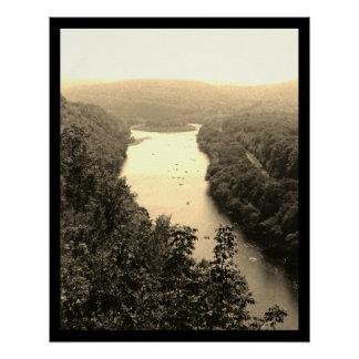 River Circle Poster