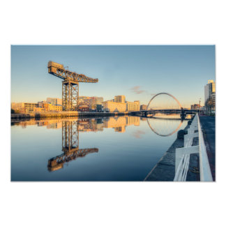 River Clyde Sunset Photo Print