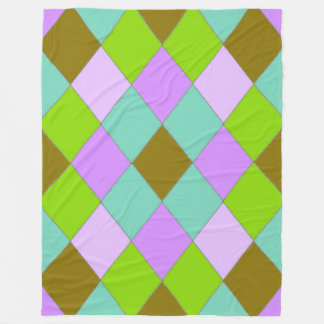 River-Cove-Diamonds-Walk-L-II- Fleece Blanket