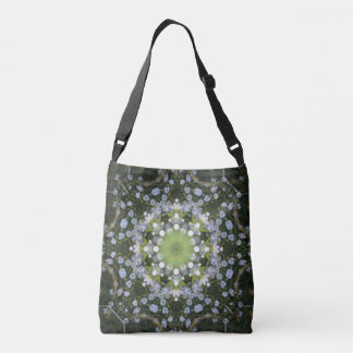 River Daisies by Moonlight Cross Body/Tote Crossbody Bag