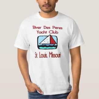 River Des Peres Yacht Club Sailboat T-Shirt