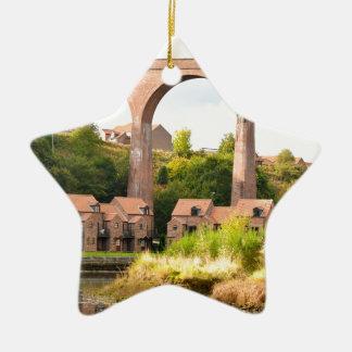 River Esk Ceramic Ornament